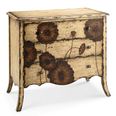 Poppy 3 Drawer Chest