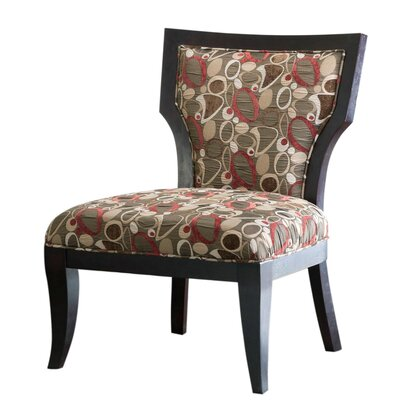 Madison Park Molly Evo Fabric Slipper Chair