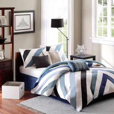 Madison Park Mercer 7 Piece Comforter Set
