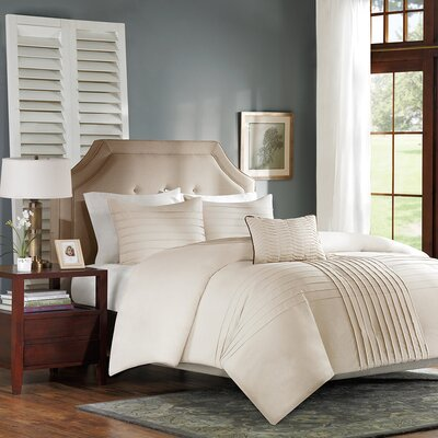 Madison Park Caspia 4 Piece Duvet Set