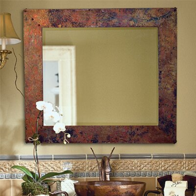 Tuscany Hand Hammered Copper Mirror