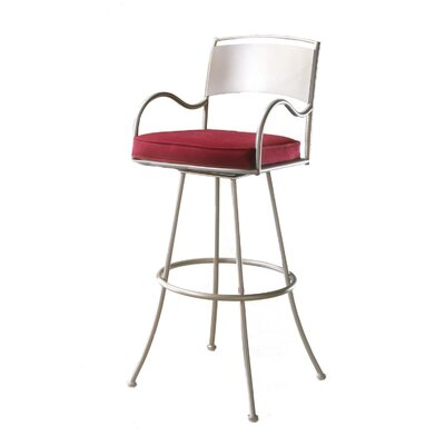 "Johnston Casuals Armada 34"" Swivel Bar Stool"
