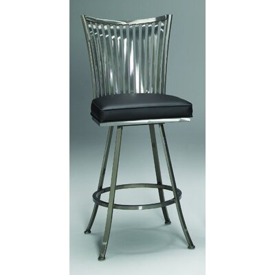 "Johnston Casuals Paralline 30"" Quick-Ship Swivel Barstool"