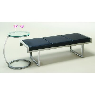 Johnston Casuals Quest Metal End Table and Bench