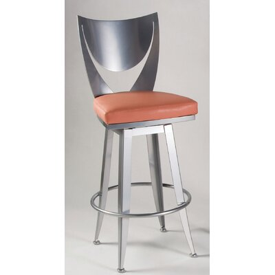Johnston Casuals Bella Contemporary Swivel Barstool