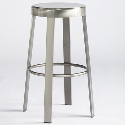 "Johnston Casuals Svinn 30"" Steel Round Barstool"