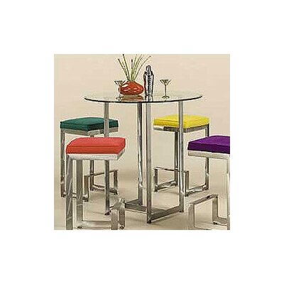 Johnston Casuals 4-Score Pub Table with Optional Stools