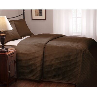 Wildon Home ® Inlay Quilted Coverlet Collection