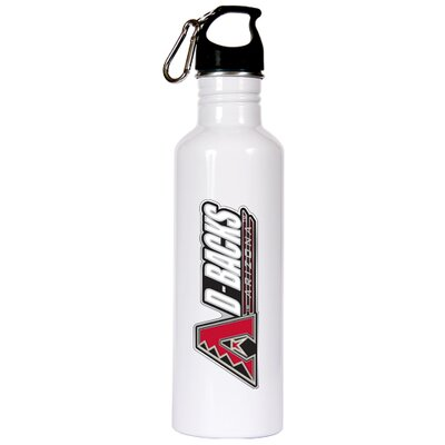 Great American Products MLB 26 Oz White Stainless Steel Water Bottle