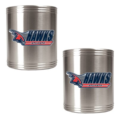 Great American Products NBA 2 Pieces Stainless Steel Can Holder Set