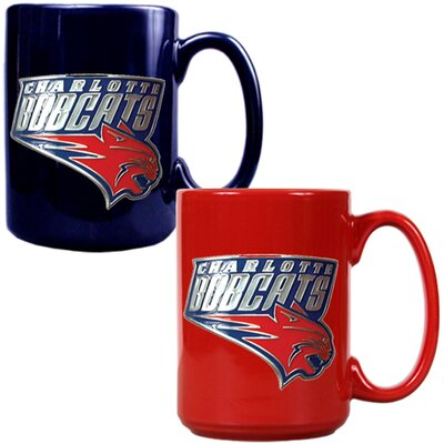 Great American Products NBA Primary Logo Mug (Set of 2)