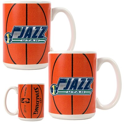 Great American Products NBA Gameball Coffee Mug (Set of 2)