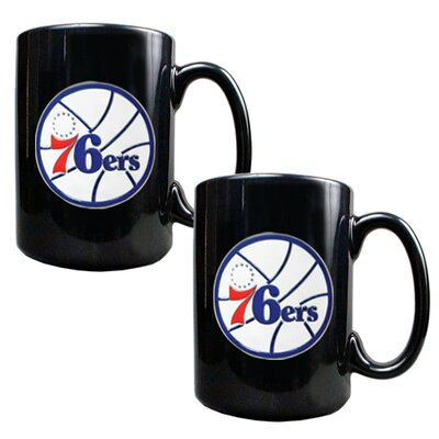 Great American Products NBA Mug (Set of 2)