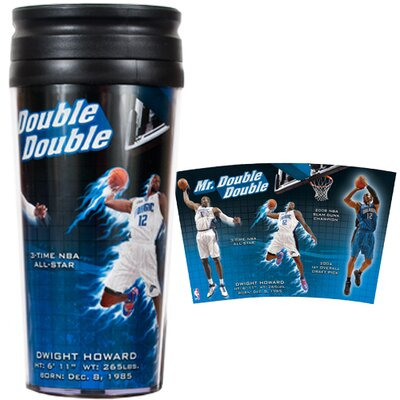 NBA 16oz Acrylic Travel Tumbler