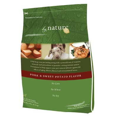 By Nature Pork & Sweet Potato Formula Dry Dog Food