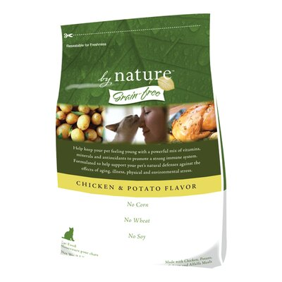 Grain-Free Chicken and Potato Flavor Dry Cat Food (35-lb Bag)