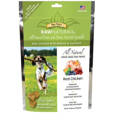 Gimborn Pet Specialties Raw Naturals Dog Treat