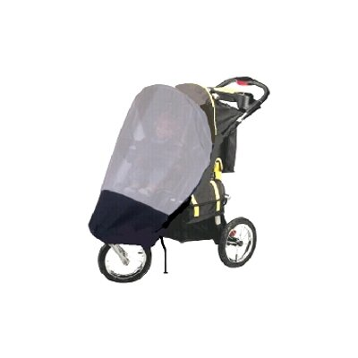 Sasha's Kiddie Products GoGoBabyZ Single Jogging Stroller Sun, Wind and Insect Stroller Cover