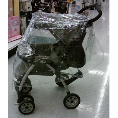 Large Single Stroller Rain and Wind Cover