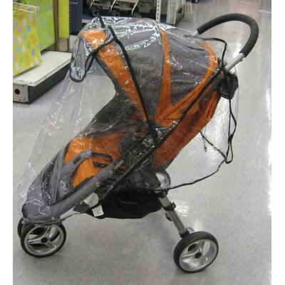 Sasha's Kiddie Products Baby Jogger City Mini Single Rain and Wind Cover