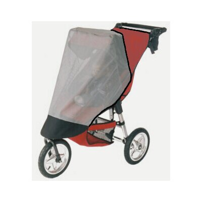 Sasha's Kiddie Products Baby Jogger City Elite Single Stroller Sun Wind and Insect Cover