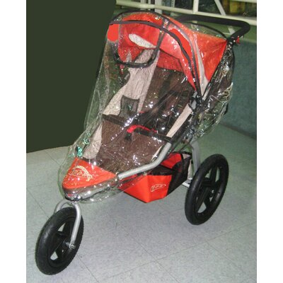 Sasha's Kiddie Products BOB Revolution CE 2011 Single Stroller Rain and Wind Cover