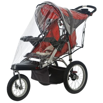 Sasha's Kiddie Products Schwinn Turismo 2011 Single Jogger Rain and Wind Cover