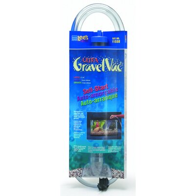 Lees Aquarium & Pet Fish Gravel Vacuum Cleaner with nozzle