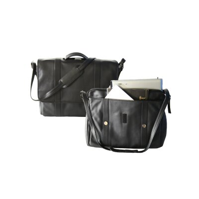 <strong>Royce Leather</strong> Deluxe Laptop Leather Briefcase