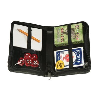 Royce Leather Zip Around Fly Fishing Card Case
