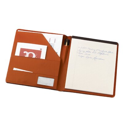 Royce Leather Bonded Leather Padfolio