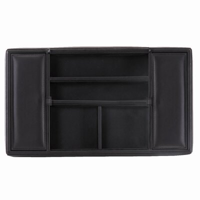 Men's Man-Made Leather Valet Tray