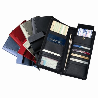 Royce Leather International Expanded Document Case