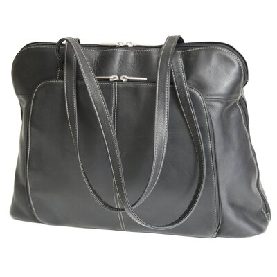 Vaquetta Nappa Ladies' Tote in Black