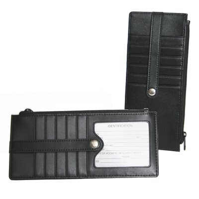 Credit Card Wallet in Black