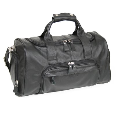 "Royce Leather 17.5"" Leather Sports Duffel"