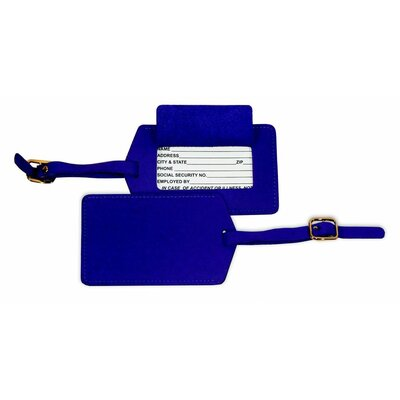 Full Grain Napa Luggage Tag