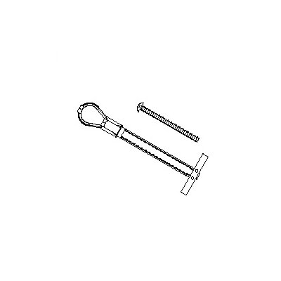 Lucasey Toggler Bolt Kit: 6 Piece Kit