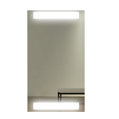 WarmlyYours Lava Light Infrared Heating Panel Mirror