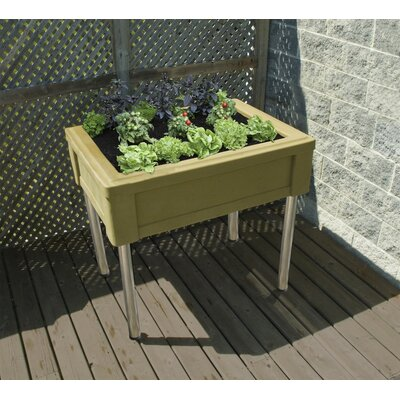 RTS Companies Garden Table with Fixed Legs