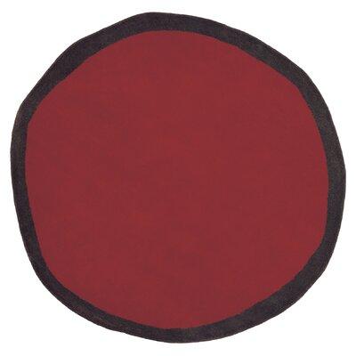 Nanimarquina Aros Redonda Red Rug