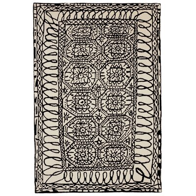 Nanimarquina Black On White Estambul Rug