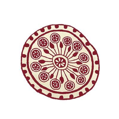 Nanimarquina Rangoli Garnet Rug