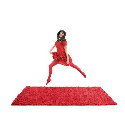 Velvet Red Rug