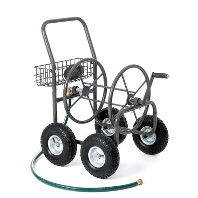 Residential 4 Wheel Hose Reel Cart