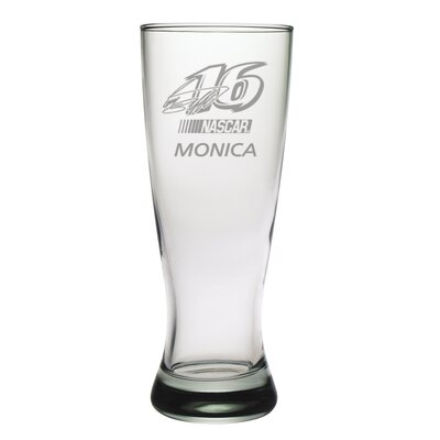 Susquehanna Glass Nascar Individual 20 oz. Grand Pilsner, Greg Biffle with personalization