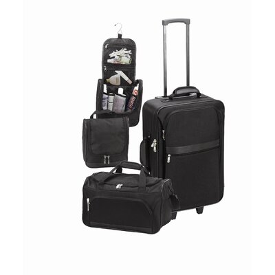 Goodhope Bags 3 Piece Luggage Set