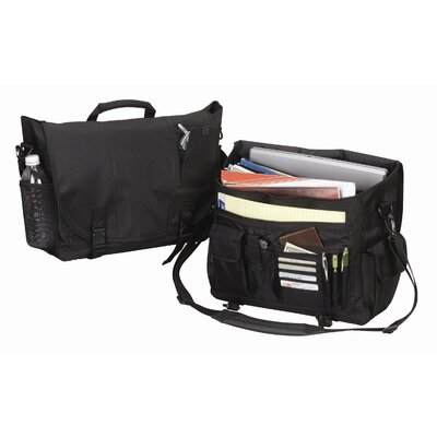 Goodhope Bags Flap-over Computer Brief in Black