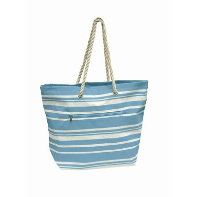 Preferred Nation Stripe Shopping Tote