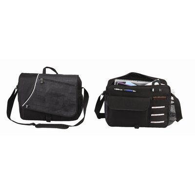 "Goodhope Bags Matrix 15.4"" Laptop Messenger"